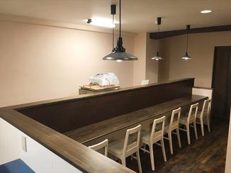 内装リフォーム レトロな印象のある、お客さまにも落ち着いていただける空間