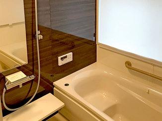 バスルームリフォーム 経年劣化した設備を一新し使いやすくなった水廻りリフォーム